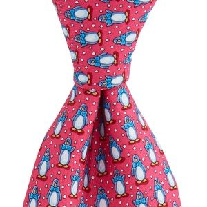 Proper Penguin Vineyard Vines Silk Tie